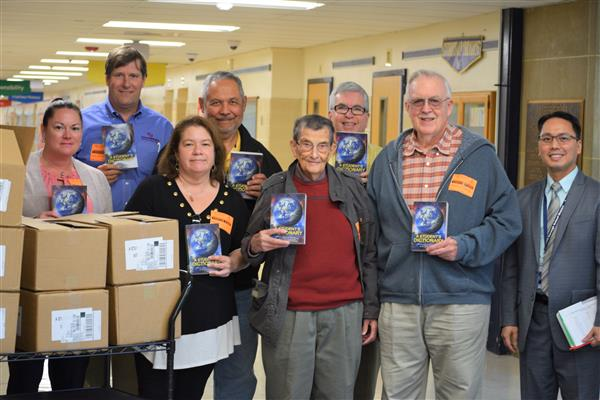 Rotary Club Dictionary Donation